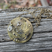DD296 Pocket Watch Backplate